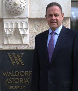אבנר און, מנכ''ל וולדורף אסטוריה ירושלים (צילום: יח''צ)