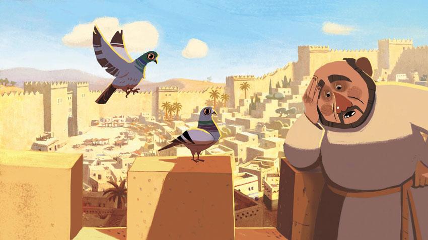 """סרט האנימציה """"אגדת המלך שלמה"""" (צילום: אולפני סנובול ירושלים)"""