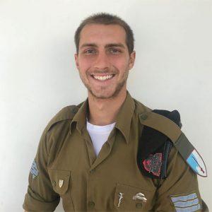 """סמל ג'ייק שול (צילום: דובר צה""""ל)"""