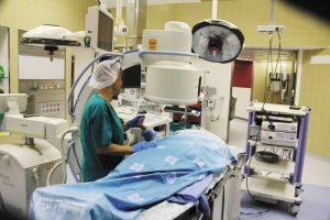 מתוך חדר הניתוח בהדסה (צילום: דוברות הדסה)