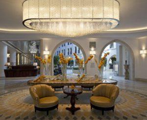 לובי מלון וולדורף אסטוריה (צילום: יח''צ)