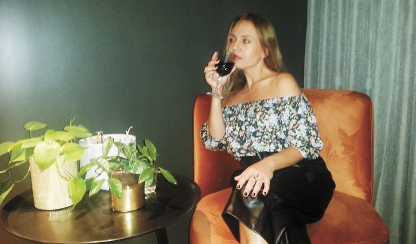 סיגל קליין במלון הבוטיק 'טריפ בת שבע' (צילום: רודריגז)