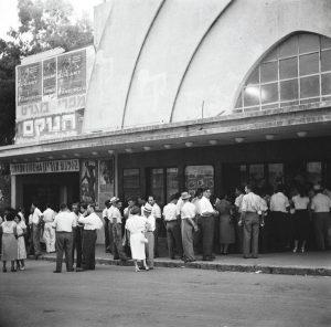 קולנוע אוריון, 1951 (צילום: יהודה אייזנשטארק, באדיבות ארכיון)