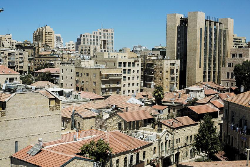 ירושלים (צילום: אוליבייה פיטוסי)
