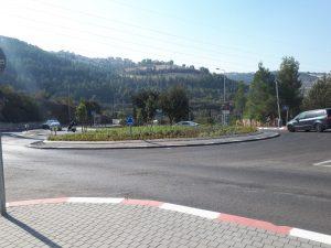 העבודותבכביש חיים ע. קוליץ (צילום: באדיבות חברת מוריה)