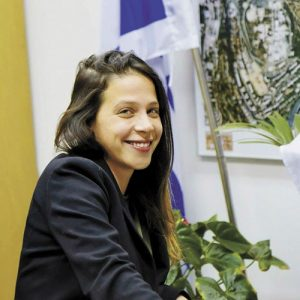 עינב בר כהן חברת (צילום: שרון גבאי)
