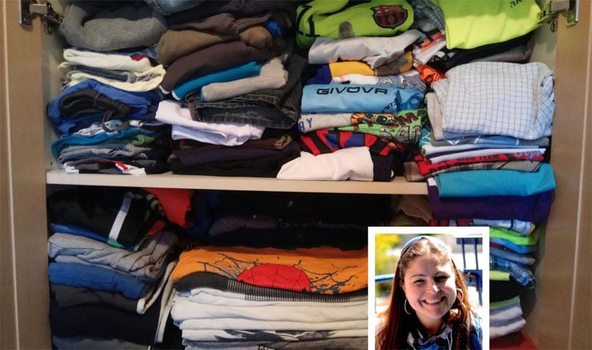ארון הבגדים של מיכל פישמן רואה (צילומים: מיכל פישמן-רואה, יולי שוורץ)
