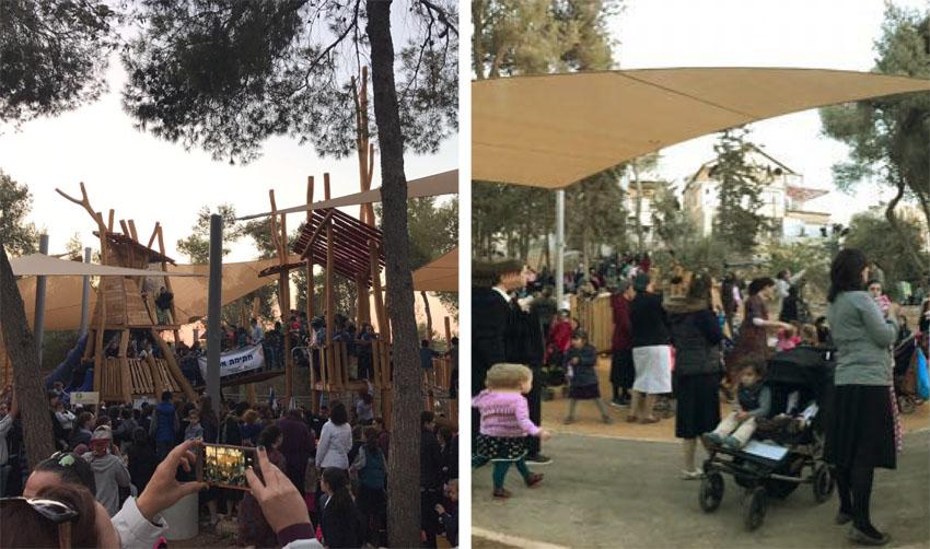 פארק הסנהדרין בשכונת סנהדריה (צילומים: ששון תירם)