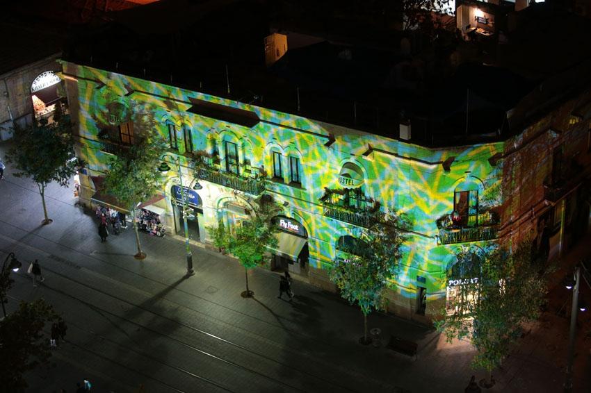 רחוב יפו בלילה, השבוע (צילום: אורן בן־חקון)