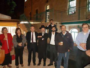 חברי מועצת העירייה מסיירים בשוק מחנה יהודה