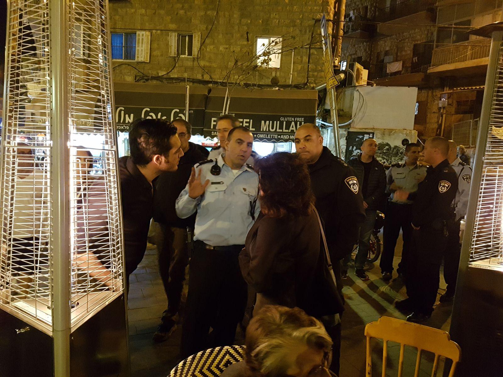 מחנה יהודה: העירייה והמשטרה סקרו מפגעים סביבתיים
