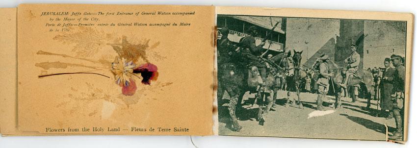 """מתוך התערוכה """"גנרל וג'נטלמן"""" במוזיאון מגדל דוד (צילום: אוסף מוזיאון מגדל דוד)"""