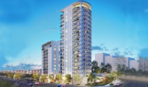 פרויקט סן מרטין (הדמיה: יגאל לוי אדריכלים אפריקה התחדשות עירונית)