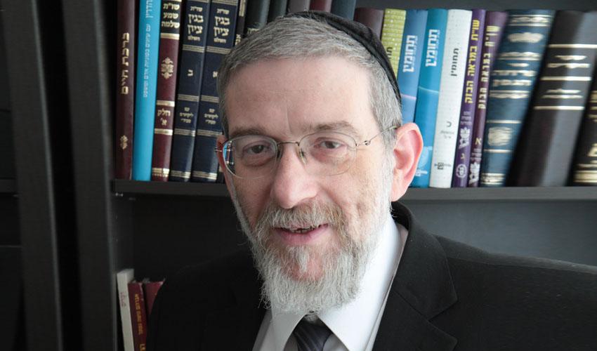 """הרב מיכאל מלכיאור (צילום: יח""""צ מיתרים)"""