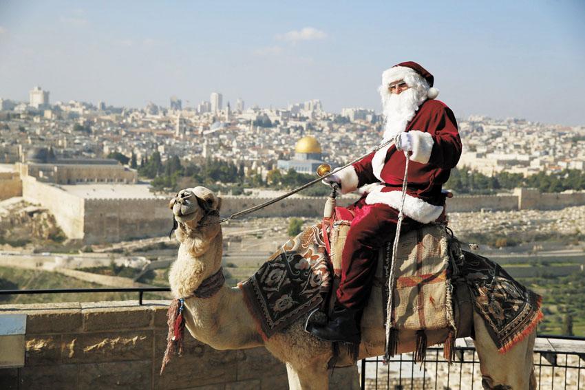 כריסמס בירושלים (צילום: רויטרס)