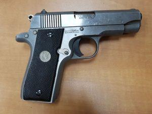 הקדח שנתפס בידי אחד מחברי חוליית הפורצים (צילום: דוברות המשטרה)