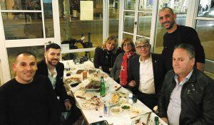 מאיר ולוסי תורג'מן, שף אבירם חיוקה וחברים