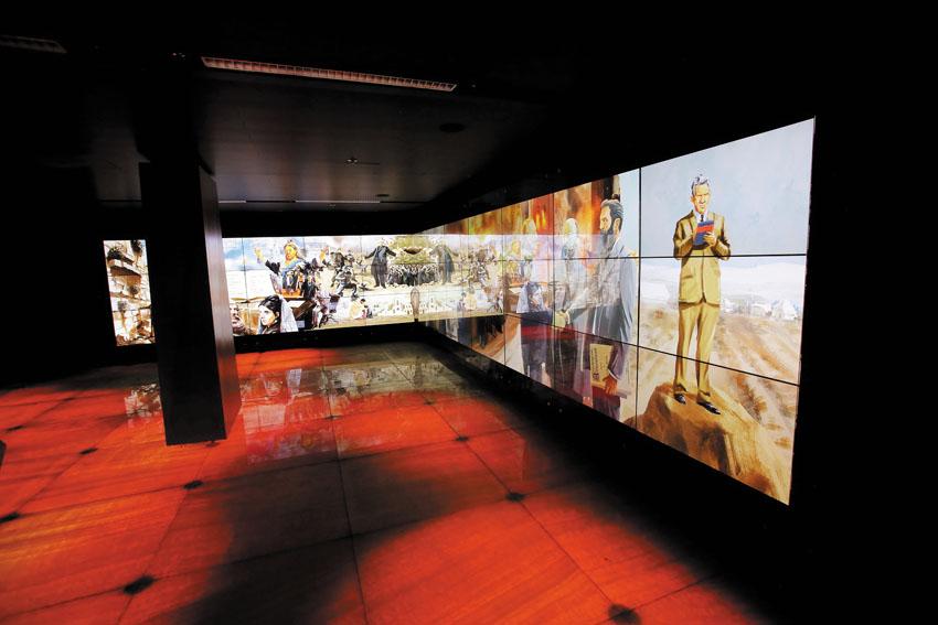 מוזיאון ידידי ישראל (צילומים: אורן כהן)