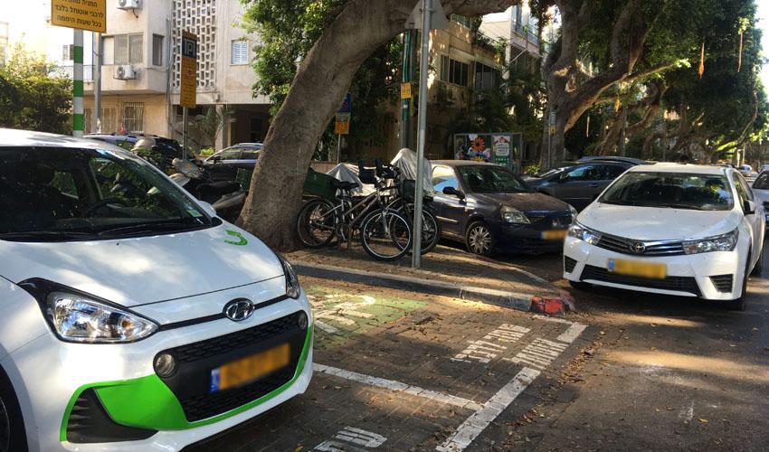 מיזם השכרת רכב (צילום: מירב אורן)