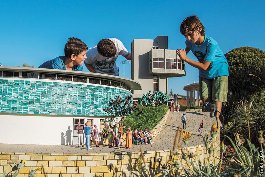 פארק המיניאטורות מיני ישראל (צילום: ברק שקד)