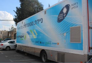 ניידת הממוגרפיה (צילום: כללית מחוז ירושלים)