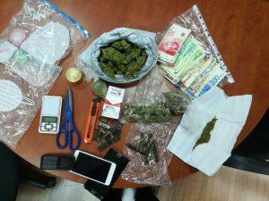 סמים שנתפסו דרך אפליקציית טלגראס (צילום: דוברות המשטרה)