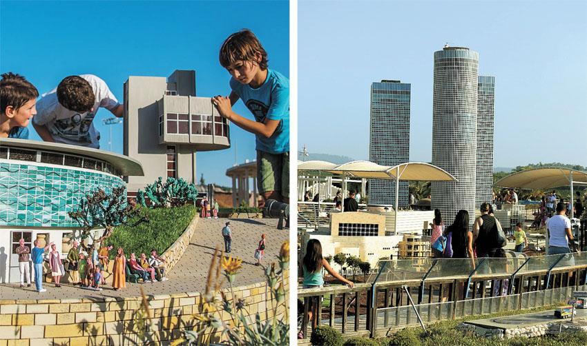 פארק המיניאטורות מיני ישראל (צילומים: ברק שקד, קובי קונקאס)