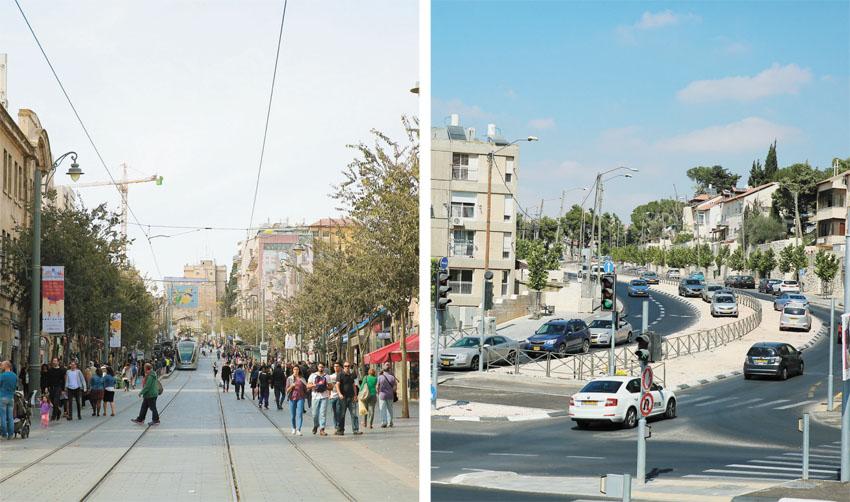 קרית היובל, מרכז העיר (צילומים: ארנון בוסאני)