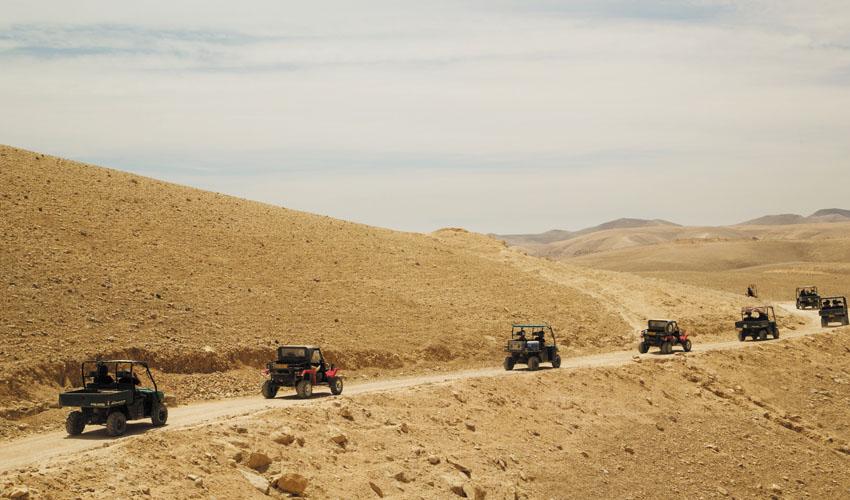 טיול ריינג'רים במדבר יהודה (צילום: יפתח שביט)