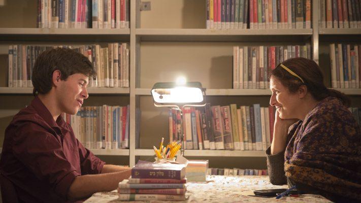 ספריה בלילה, קטמון (צילום: עמר עבד אל-קאדר)