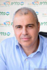 יורם סגל, מנהל מחוז ירושלים של כללית (צילום: משה בוכמן)