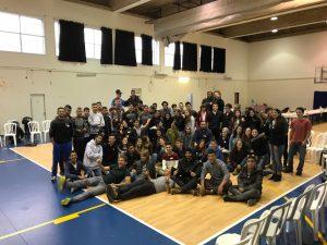 מפגש תלמידי בית חינוך ובית חנינה (צילום: פרטי)