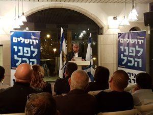 מסיבת העיתונאים של מאיר תורג'מן (צילום: פרטי)
