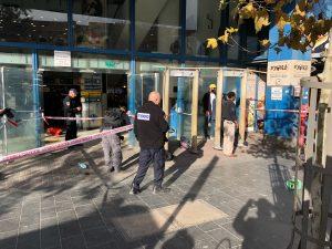זירת הפיגוע סמוך לתחנה המרכזית בירושלים (צילום: דוברות איחוד הצלה)