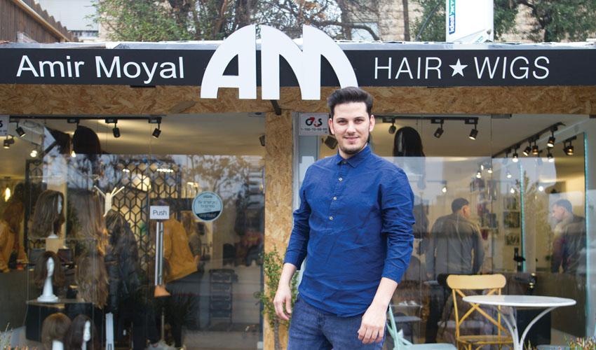 אמיר מעצב שיער (צילום: אסף קרלה)