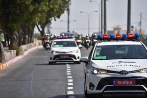 """ביקור נשיא ארה""""ב בירושלים (צילום: דוברות המשטרה)"""
