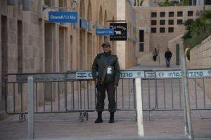 """ביקור סגן נשיא ארה""""ב מייק פנס בירושלים (צילום: דוברות המשטרה)"""