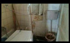 עוני מחפיר בדירת הקשישים במרכז העיר (צילום: אופיר הרוש)