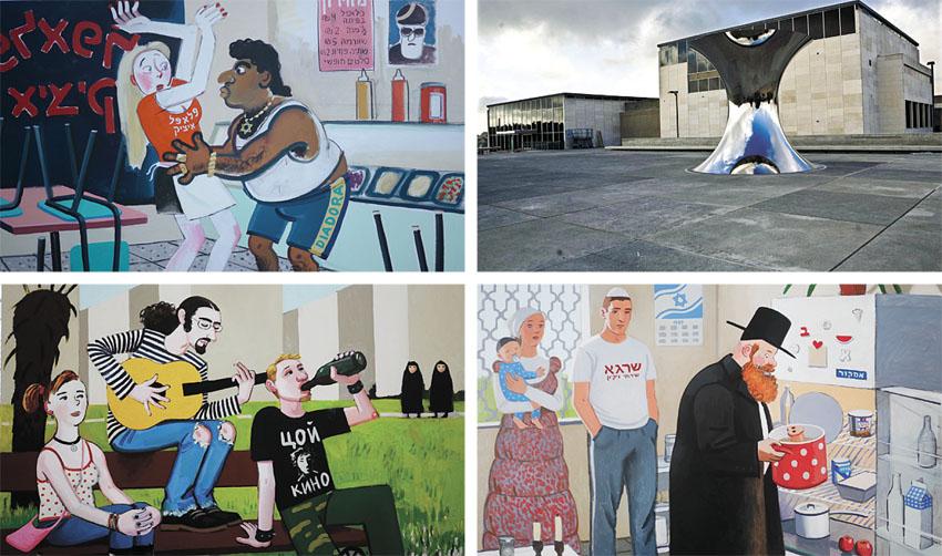 """מוזיאון ישראל, מתוך התערוכה """"פרבדה"""" (צילומים: תומר אפלבאום, באדיבות האמנית וגלריה רוזנפלד תל אביב)"""