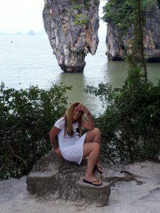 נינו פרץ בתאילנד (צילום: פרטי)