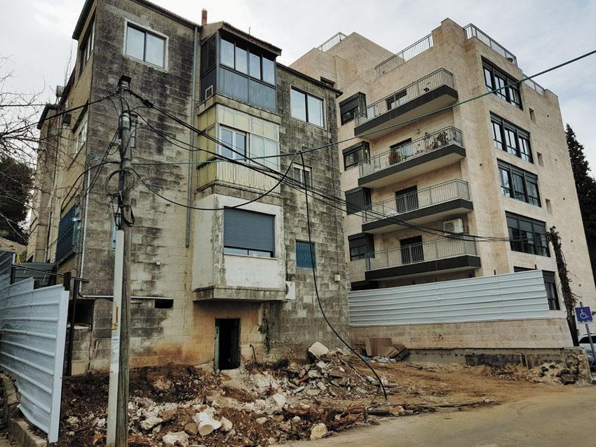 הבניין ברחוב מגדים 15 (צילום: באדיבות חברת יסודות שיתוף)