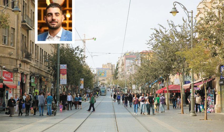 מרכז העיר, איציק תורג'מן (צילומים: ארנון בוסאני, רועי חזיזה)