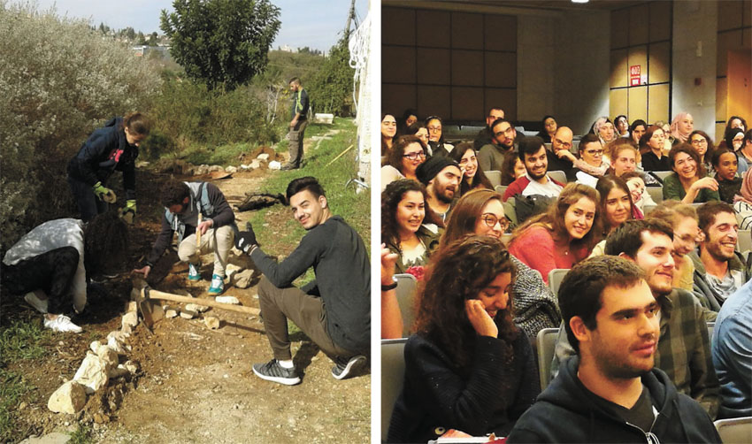 שבוע האחריות החברתית במכללת הדסה (צילומים: באדיבות המכללה האקדמית הדסה)