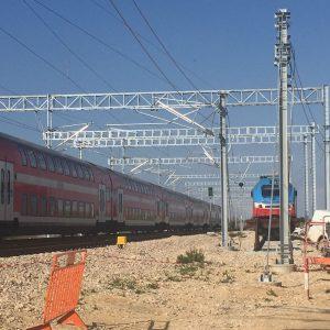 ננסיעת המבחן ברכבת המהירה ירושלים-תל אביב, 16.1.18 (צילום: ליאת בכרך)