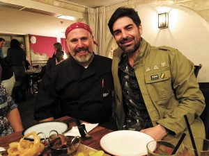 רותם כהן והרווי סנדלר (צילום: פרטי)