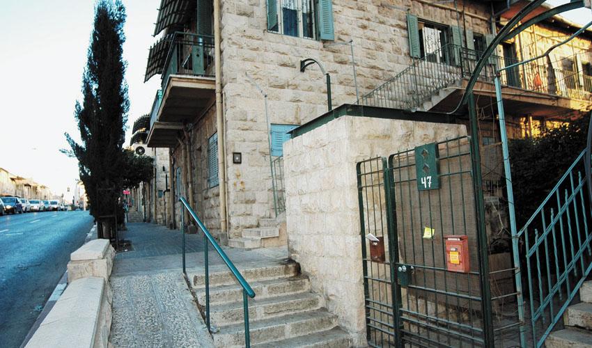 רחוב בצלאל (צילום: רפי קוץ)