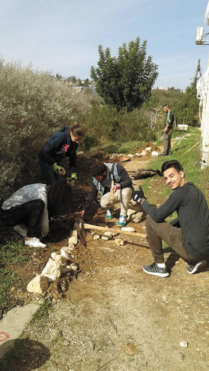 שבוע האחריות החברתית במכללת הדסה (צילום: באדיבות המכללה האקדמית הדסה)