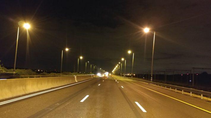 כביש 1 קטע הכביש בין מחלף לטרון למחלף ענבה (צילום: דוברות משרד התחבורה)