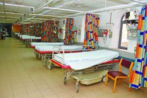 בית החולים ביקור חולים (צילום: ארנון בוסאני)