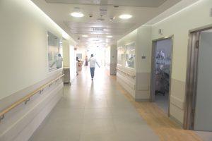 קומה 5 במרכז הרפואי הרצוג (צילום: בוגדן סוקול)